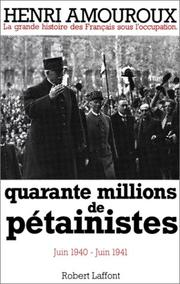Cover of: Quarante millions de pétainistes, tome 2