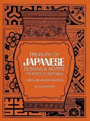 Cover of: Treasury of Japanese designs and motifs for artists and craftsmen
