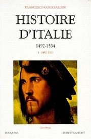 Cover of: Histoire d'Italie, tome 1