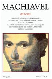 Cover of: Oeuvres de Machiavel