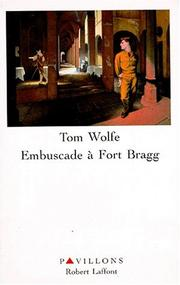 Cover of: Embuscade à fort Bragg