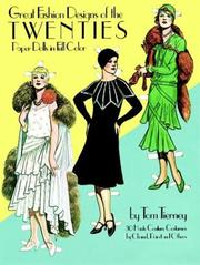 Cover of: Great Fashion Designs of the Twenties Paper Dolls in Full Color