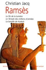 Cover of: Ramsès, tome 1