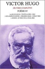 Cover of: Oeuvres complètes de Victor Hugo