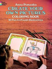 Cover of: Create Your Own Pictures Coloring Book