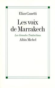 Cover of: Les voix de Marrakech