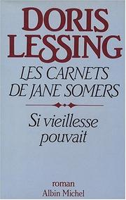 Cover of: Les carnets de Jane Somers