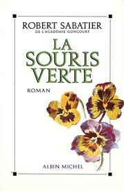 Cover of: La souris verte