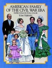 Cover of: American Family of the Civil War Era Paper Dolls in Full Color