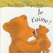 Cover of: Je t'aime