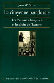 Cover of: La Citoyenne paradoxale