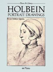 Cover of: Holbein portrait drawings