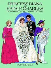 Cover of: Princess Diana and Prince Charles Fashion Paper Dolls in Full Color