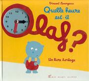 Cover of: Quelle heure est-il, Olaf ?