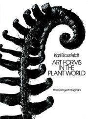 Cover of: Art forms in the plant world