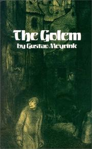 Cover of: The Golem