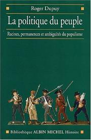 Cover of: La Politique du peuple