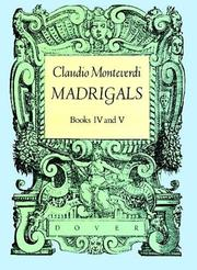 Madrigals by Claudio Monteverdi