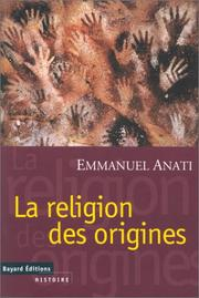 Cover of: La Religion des origines