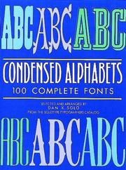 Cover of: Condensed alphabets