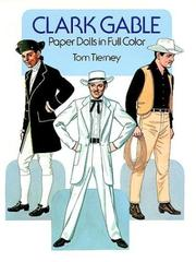 Cover of: Clark Gable Paper Dolls in Full Color