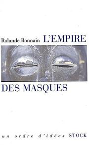 Cover of: L'Empire des masques