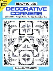 Cover of: Ready-to-Use Decorative Corners (Clip Art) | Ted Menten