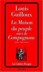 Cover of: La Maison Du Peuple Suivi