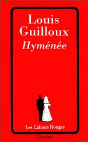 Cover of: Hyménée