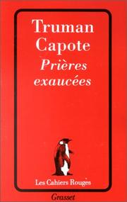 Cover of: Prieres exaucees