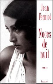 Cover of: Noces de nuit