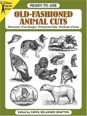 Cover of: Ready-to-Use Old-Fashioned Animal Cuts (Clip Art)
