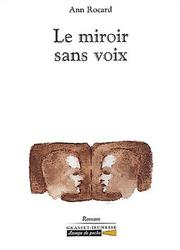 Cover of: Le miroir sans voix