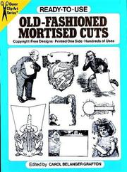 Cover of: Ready-to-Use Old-Fashioned Mortised Cuts (Clip Art)