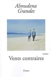 Cover of: Vents contraires