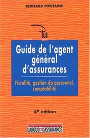 Cover of: Guide de l'agent général d'assurances