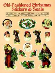 Cover of: Old-Fashioned Christmas Stickers and Seals