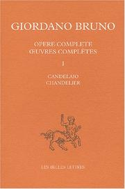 Cover of: Candelaio