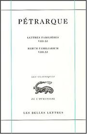 Cover of: Lettres familieres t.3 t.3
