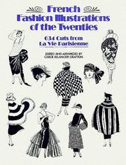 Cover of: French fashion illustrations of the twenties | Carol Belanger Grafton