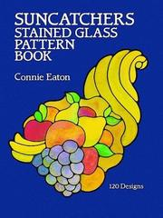 Suncatchers stained glass pattern book by Connie Eaton