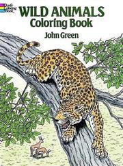 Cover of: Wild Animals-Coloring Book