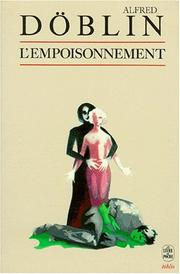 Cover of: L'Empoisonnement