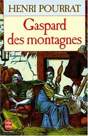 Cover of: Gaspard des montagnes