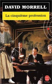 Cover of: La cinquième profession