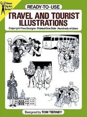 Cover of: Ready-to-Use Travel and Tourist Illustrations (Clip Art)