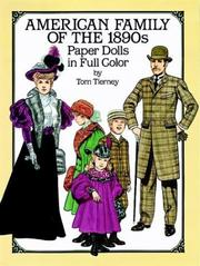 Cover of: American Family of the 1890s Paper Dolls in Full Color