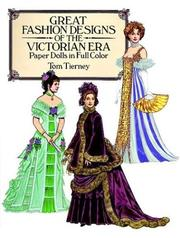 Cover of: Great Fashion Designs of the Victorian Era Paper Dolls in Full Color