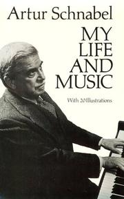 Cover of: My life and music
