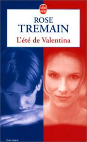 Cover of: L'Eté de Valentina